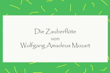 Die Zauberflöte von Wolfgang Amadeus Mozart - kultur4all.de