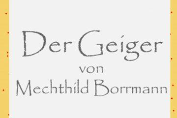 Der Geiger von Mechthild Borrmann - kultur4all.de