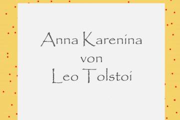 Anna Karenina von Leo Tolstoi - kultur4all.de