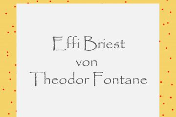 Effi Briest von Theodor Fontane - kultur4all.de