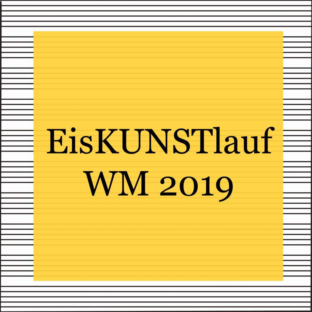 weltmeisterschaft eiskunstlauf 2019