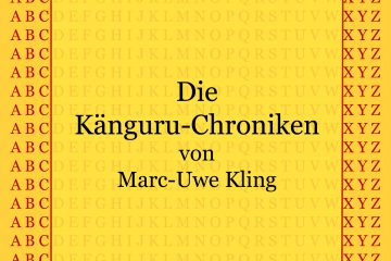Känguru-Chroniken von Marc-Uwe Kling - kultur4all.de