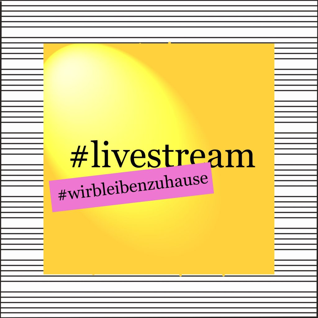 livestream wirbleibenzuhause - kultur4all.de