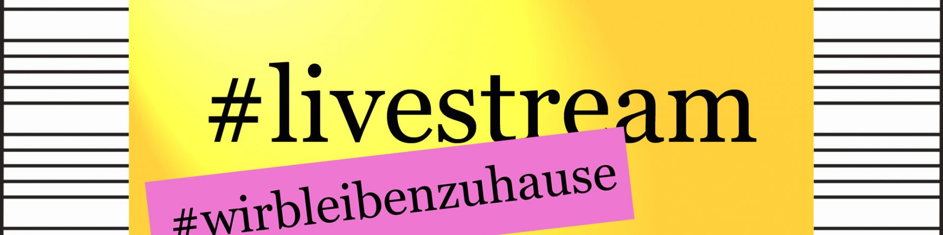 live-stream Veranstaltungskalender #wirbleibenzuhause - kultur4all.de