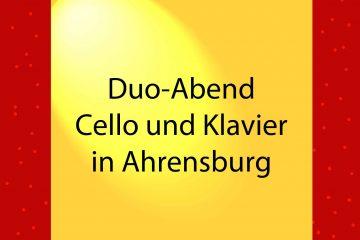 Duo-Abend Ahrensburg - kultur4all.de