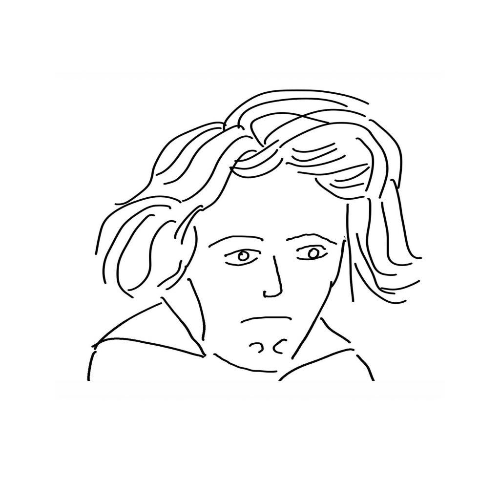 Beethoven Skizze - © Astrid Demand-Schnitzer - kultur4all.de