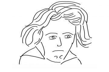 Beethoven-Skizze © Astrid Demand-Schnitzer - kultur4all.de